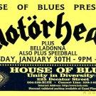 Motorhead House of Blues Gig HANDBILL Poster ASD