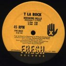 "T LA ROCK Flow With the New Style 12"" Fresh'88ASD"