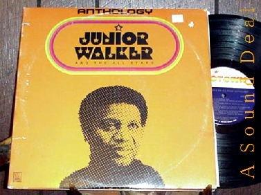 JUNIOR WALKER &t ALL-STARS OOP MOTOWN 2 LP ANTHOLOGY