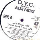 """DYC BASS PATROL 12""""FREESTYLE LATIN CUTIES BOOTY GANGSTA"""