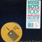 """BOOGIE BOYS OG '88 OLDSKOOL 12"""" BODY / KMD STEP OFF"""