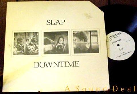 SLAP RARE '85 OOP DOWNTIME LP + PRESS AMBIENT MINIMAL