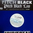 PITCH BLACK LAW DJ ONLY DOUBLE LP GANGSTA RAP PREMIER