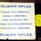 "CELIBATE RIFLES HTF AUSSIE '88 PS 12"" THANK YOU AMERICA"