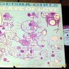 "GEISHA GIRLS RARE '84 PS 12"" SLAVE OF LOVE PUNK WAVE"