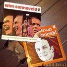 WIM SONNEVELD 2 LP LOT HET BESTE VAN + MET WILLEM JIJOL