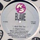"BLAME RARE '92 US REMIXES 12"" MUSIC TAKES YOU SEAL"