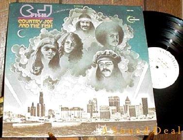 COUNTRY JOE & THE FISH ORIGINAL '70 LP