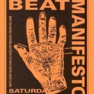MEAT BEAT MANIFESTO LOOP GURU OG HANDBILL POSTER TH ORB