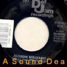 "ALYSON WILLIAMS Sleep Talk 7"" Def Jam '82 45 ASD"