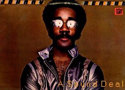 JOHNNY REASON '77 S/T Fantasy Promo LP FUNK ASD