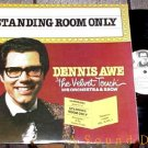 DENNIS AWE RARE 2 LP STANDING ROOM ONLY AUTOGRAPH LOUNG