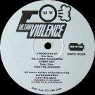 "ULTRAVIOLENCE '92 12"" VENGEANCE EP TECHNO INDUSTRIAL"