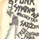 PUNK SYMPHONY ORCHESTRA TEXAS Punk Handbill