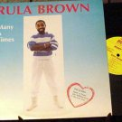 RULA BROWN OOP '86 BEE CAT DANCEHALL LP MANY A TIMES