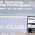 """K.W.S. TEDDY PENDERGRASS '94 DJ ONLY 2 X 12"""" MORE I KWS"""