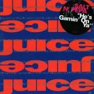 "SALT 'N' PEPA HTF '89 DJ JUICE 12"" HE'S GAMIN' ON YA"