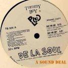 "DE LA SOUL SAY NO GO 12"" RARE OG '89 DJ PROMO TOMMY BOY"
