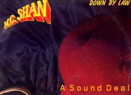 MC SHAN Down by Law LP COLD CHILLIN' '86