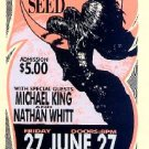 JILL JACK SISTER SEED '87 HANDBILL Silkscreen Poster