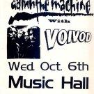 VOIVOD Damn the Machine Handbill Poster metal ASD