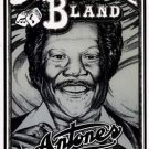 BOBBY BLUE BLAND Poster Texas '80 Antone's Blues RARE!
