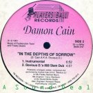 "DAMON CAIN In The Depths Of Sorrow 12"" RARE freestyle"
