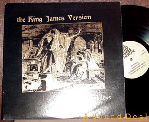 KING JAMES VERSION LP PEAKS & VALLEYS Private HARDCORE