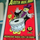 AUSTIN MUSIC AWARDS '95 POSTER Robert Earl Keen Sincola