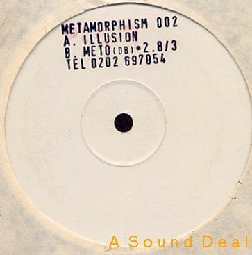 "METAMORPHISM Illusion 12"" Techno Rave '93 Tony Clements"