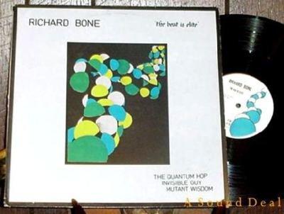 "RICHARD BONE Beat is Elite 12"" electro minimal synth'82"