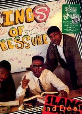 KINGS OF PRESSURE Slang Teacher LP OG'89 oldskool promo