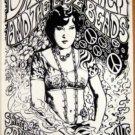 DAVID GARZA & LOVE BEADS Texas '91 Cannibal Club POSTER