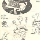 DANIEL JOHNSTON obscure '93 Illustrated Art ZINE Austin Diamanda Galas outsider