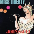 "JOHN SAULI Fonny de Wulf MISS LIBERTY 12""electro HI-NRG disco Belgium Italo HEAR"