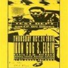 TEST DEPT Sheep on Drugs Rare '96 HANDBILL Poster Industrial Oklahoma Ikon