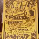 NEXT Texas Chainsaw Massacre '82 Poster punk kbd Jim Franklin 6th street Austin