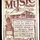 PIONEER FARM Texas '83 Poster BUTCH HANCOCK Micael Priest art
