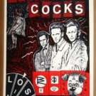 REVOLTING COCKS Industrial Lunch POSTER Rare '88 KOZIK