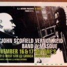 JOHN SCOFIELD VERNON REID Texas Gig POSTER jazz funk Antone's Night Club 2000