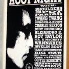 BOB DYLAN Hoot Night Cannibal Club'90 POSTER Daniel Johnston JOE ROCKHEAD Pariah