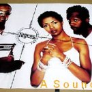 FUGEES Poster Blunted Bootleg Score Lauryn Hill Wyclef Jean pras clef RARE promo