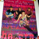 CRANBERRIES RARE '93 DEBUT Promo POSTER Everybody Else is Doing it So Why Can't