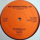 "KAIYA MATTHEWS Scandalous Clever 12"" SEALED '83 modern soul HEAR Audrey ADC Band"