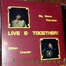 BIG MAMA THORNTON Live & Together CLIFTON CHENIER LP Sealed Crazy Cajun zydeco