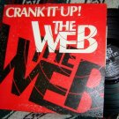 Web Crank It UP LP RARE Autographed + 45 + insert AOR private HARD