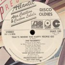 "Trammps Disco Inferno 12"" RARE limited extended white label promo hear"