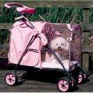 KittyWalk 5th Ave SUV Pet Stroller - Pink