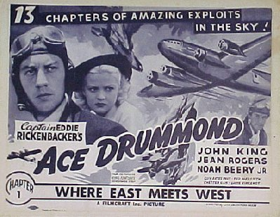 ACE DRUMMOND, 1936