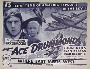 ACE DRUMMOND, 1936